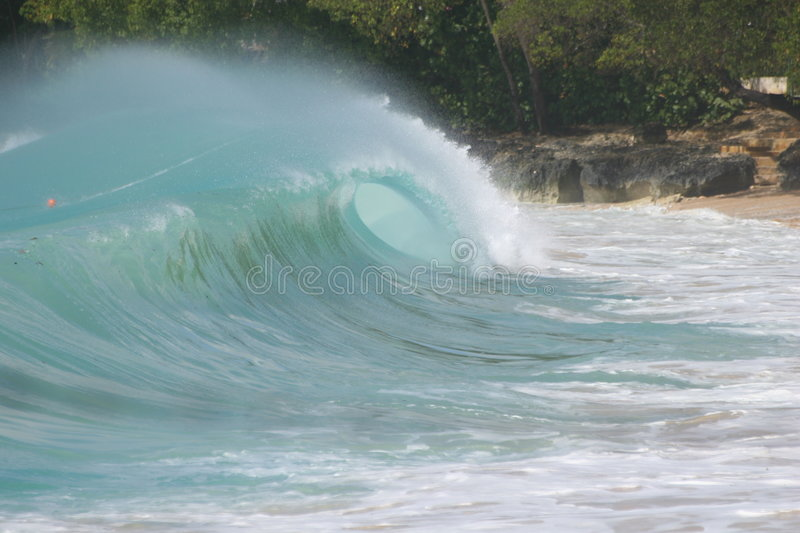 Shorebreak 2 lizenzfreies stockbild