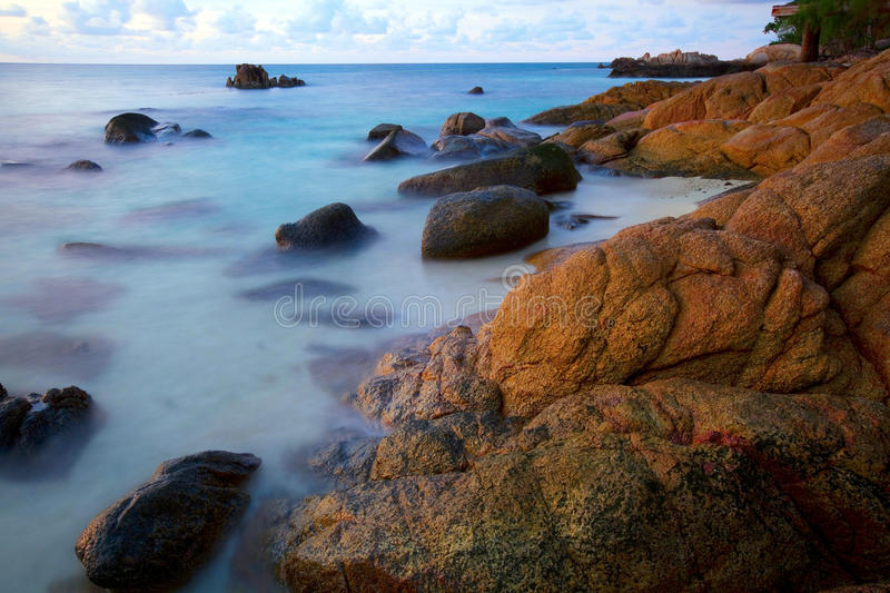 Download Shoreline at beach stock image. Image of beauty, shore - 26949263