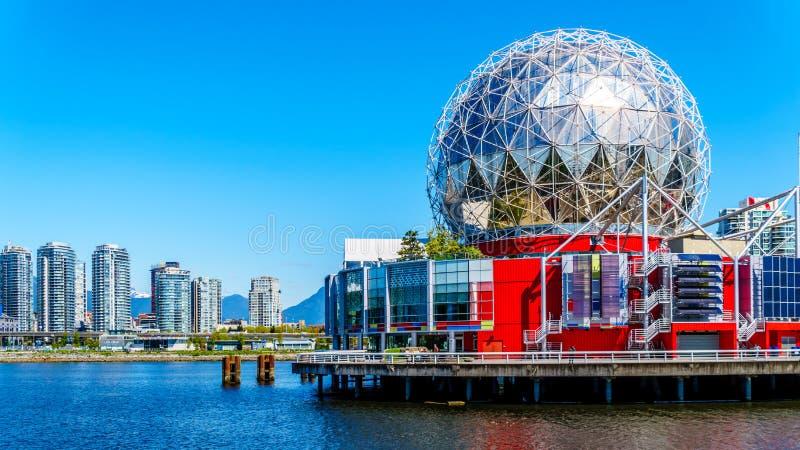 Shoreline de Vancouver comprenant l'architecure moderne image libre de droits