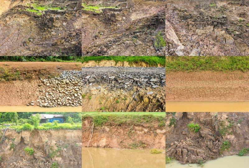 Shoreline Erosion Stock Photography