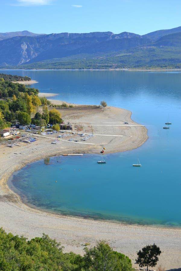 Download Shoreline of a lake stock image. Image of mountain, lake - 22145539