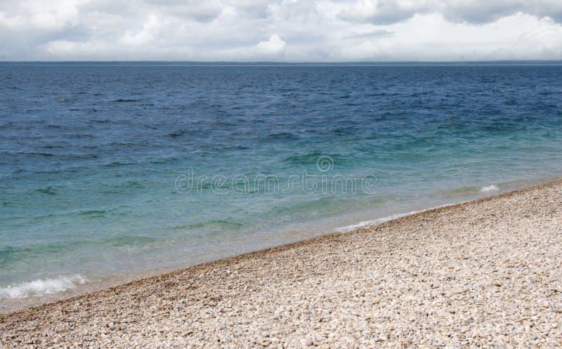 Shoreline on Machinac Island in Michigan