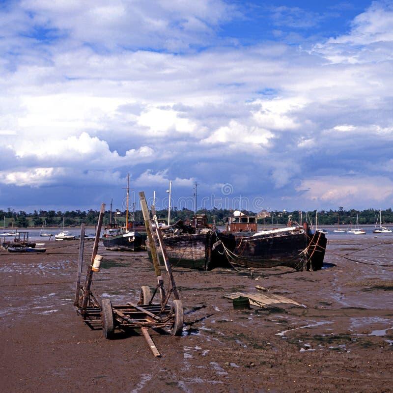 Download Shoreline, Pin Mill, Suffolk. Stock Photo - Image: 31871984