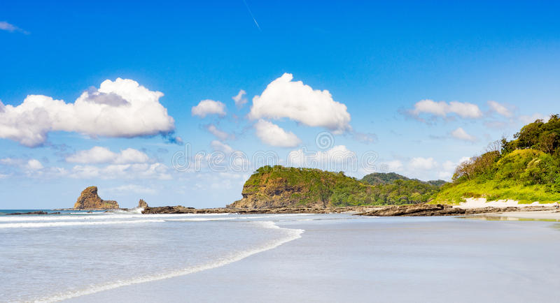 Playa Maderas stock image