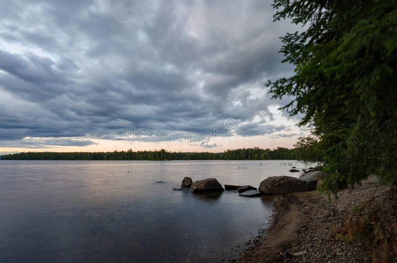 Shoreline vitreux photos stock