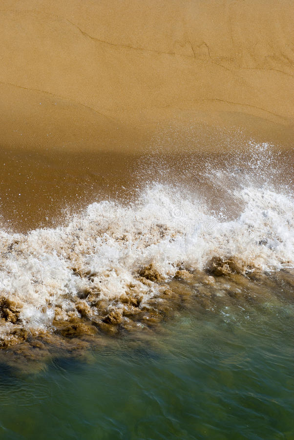 Download Shoreline stock image. Image of gold, golden, beach, ocean - 30346321