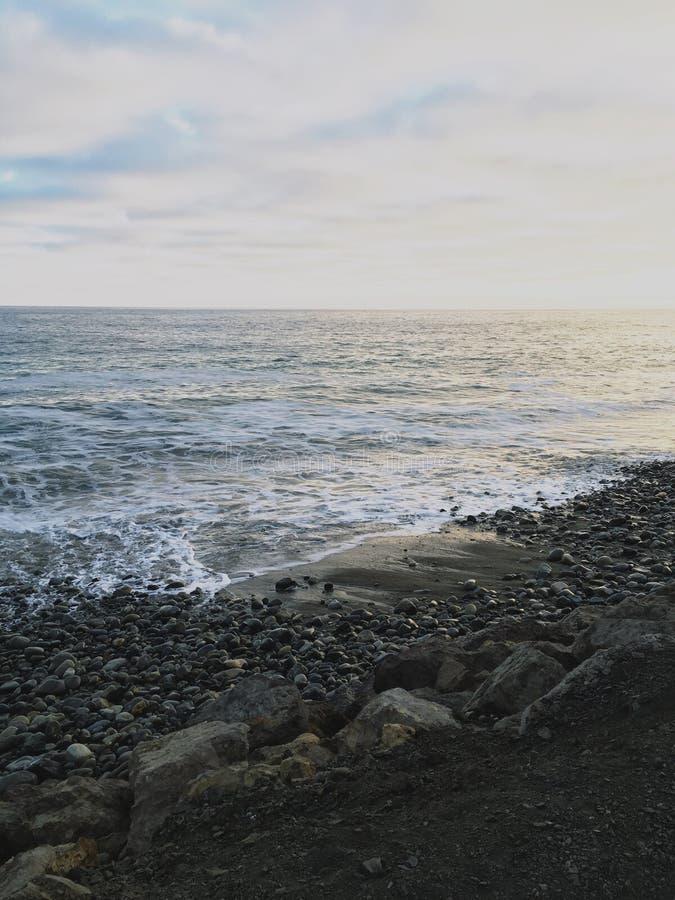 Shoreside de Malibu imagens de stock royalty free