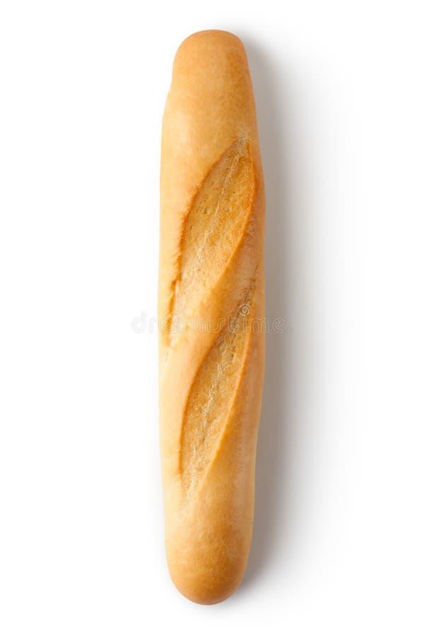 Short baguette. Topview. royalty free stock photos