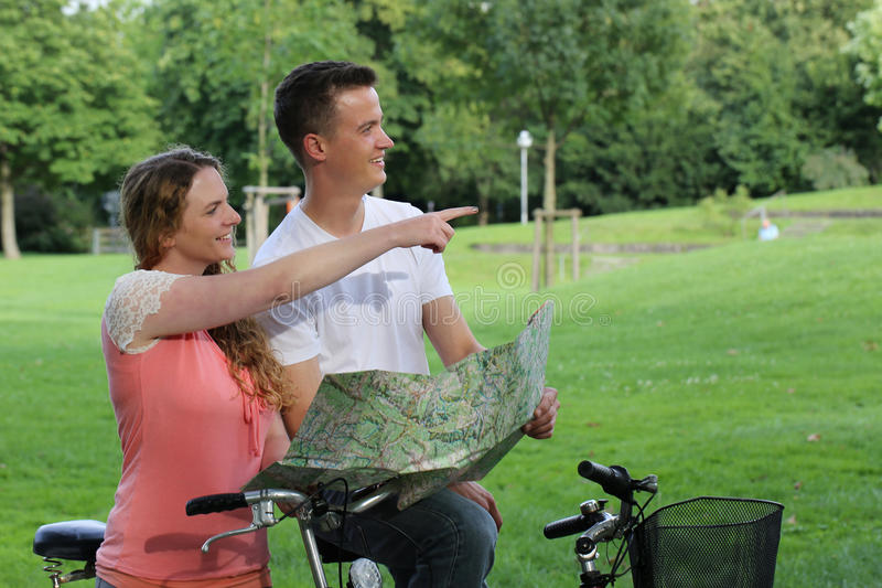 Download Short Break During A Bicycle Tour Stock Image - Image: 33525919