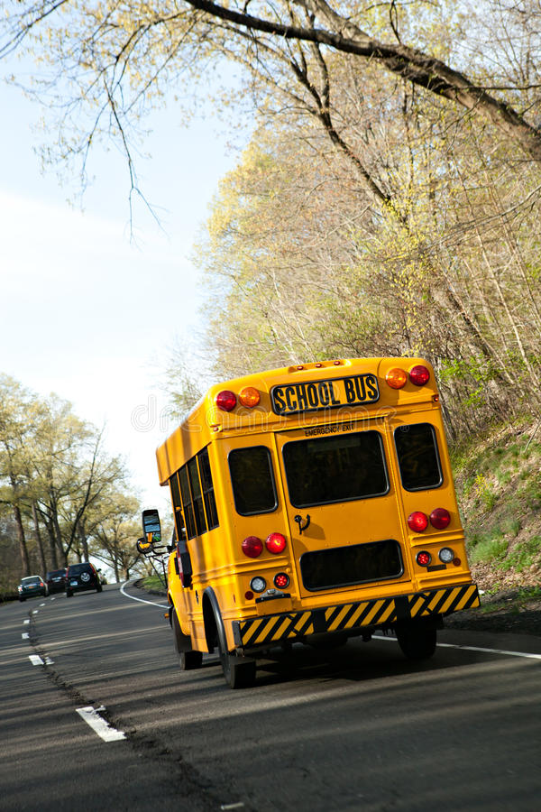 Short Bus Royalty Free Stock Photos
