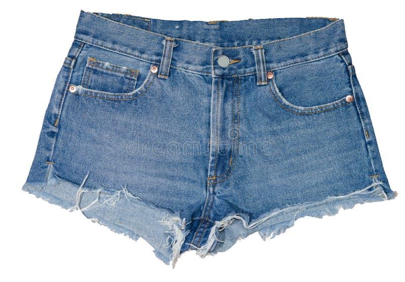 Short das calças de brim fotos de stock