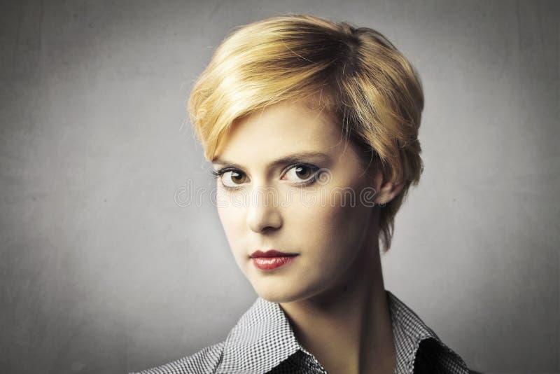 Short Haircut Stock Image