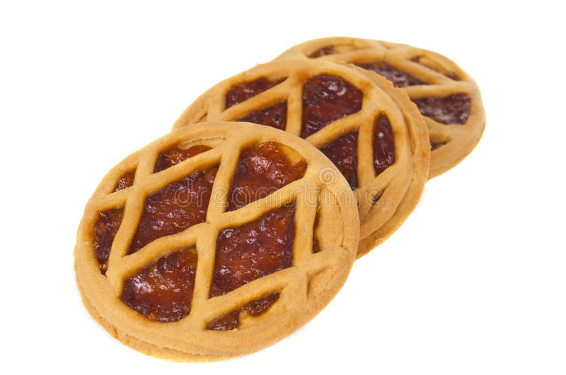 Short Pies With Jam Stock Image
