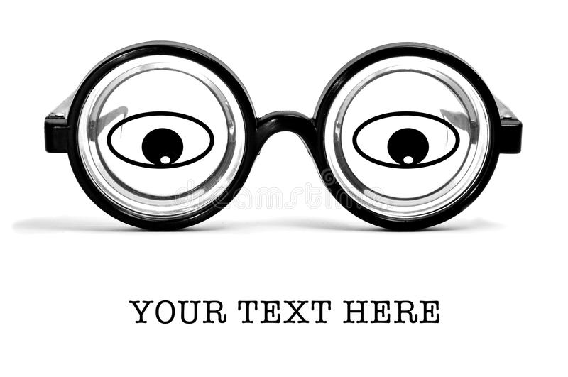 Short-sighted Glasses Royalty Free Stock Image