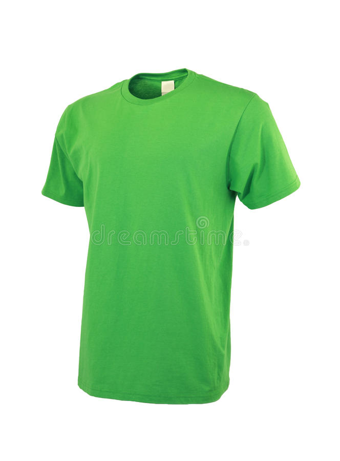 Short Sleeve Tshirt Front royalty free stock photography