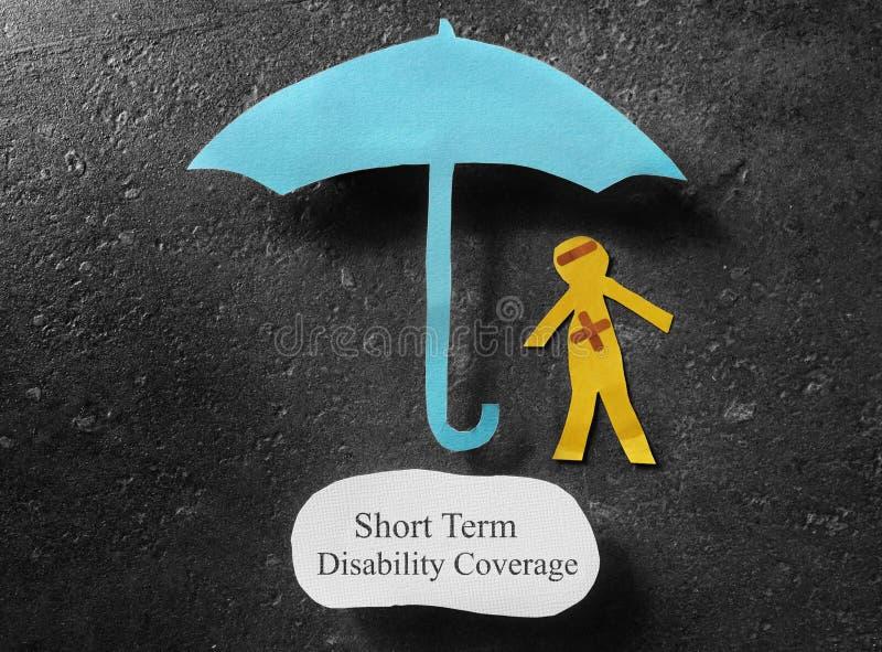 Short Term Disability concept stock photos