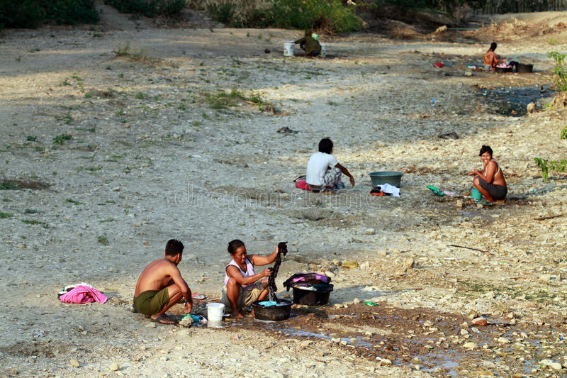 Download Shortage of clean water editorial image. Image of indonesian - 34793875