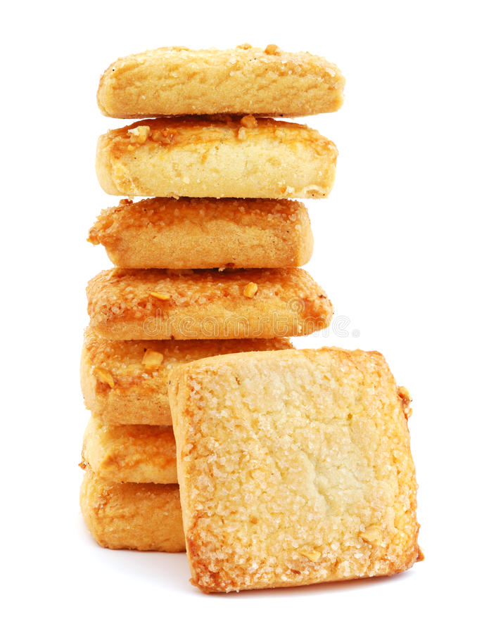 shortbread печений стоковое фото