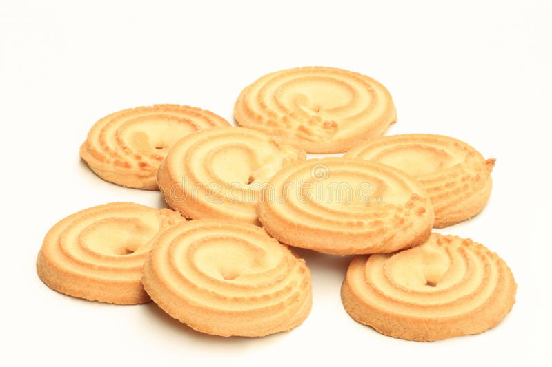Shortbread biscuits royalty free stock images