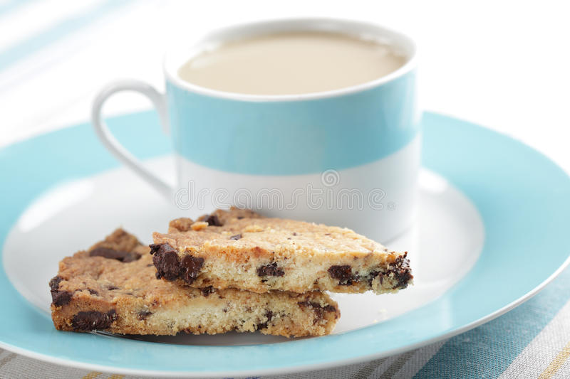 Shortbread with chocolate chips