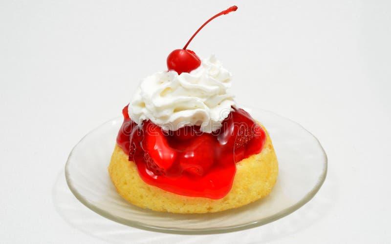 Shortcake della fragola fotografie stock libere da diritti