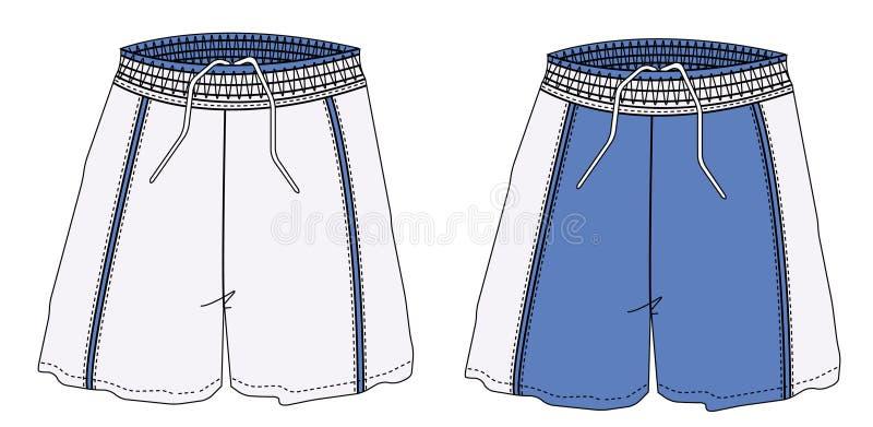 Shorts ilustração royalty free