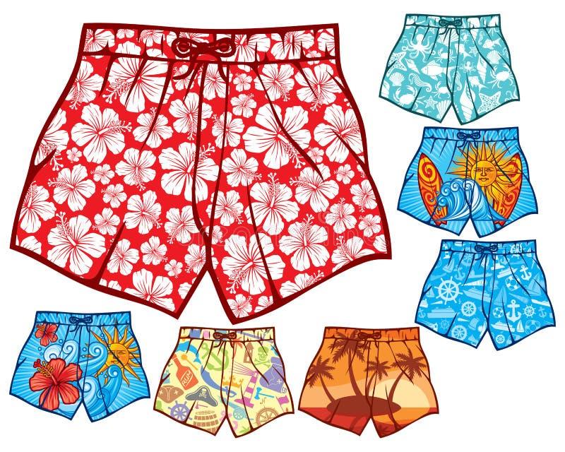 Shorts de bain illustration stock