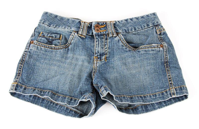 Shorts del denim immagini stock