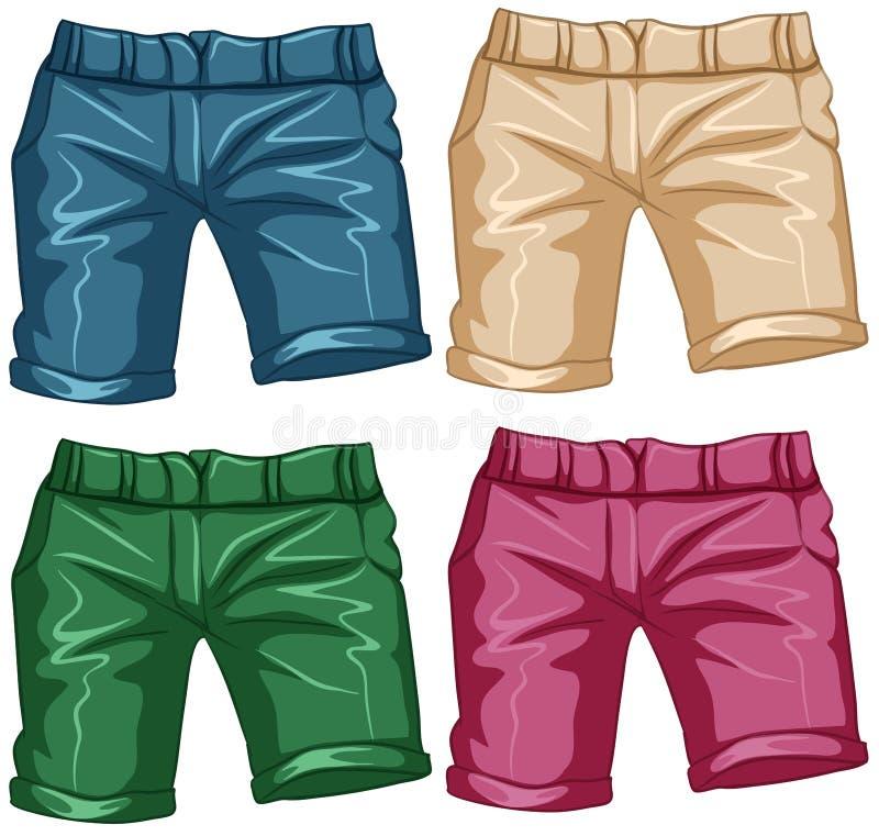 Shorts vector illustration