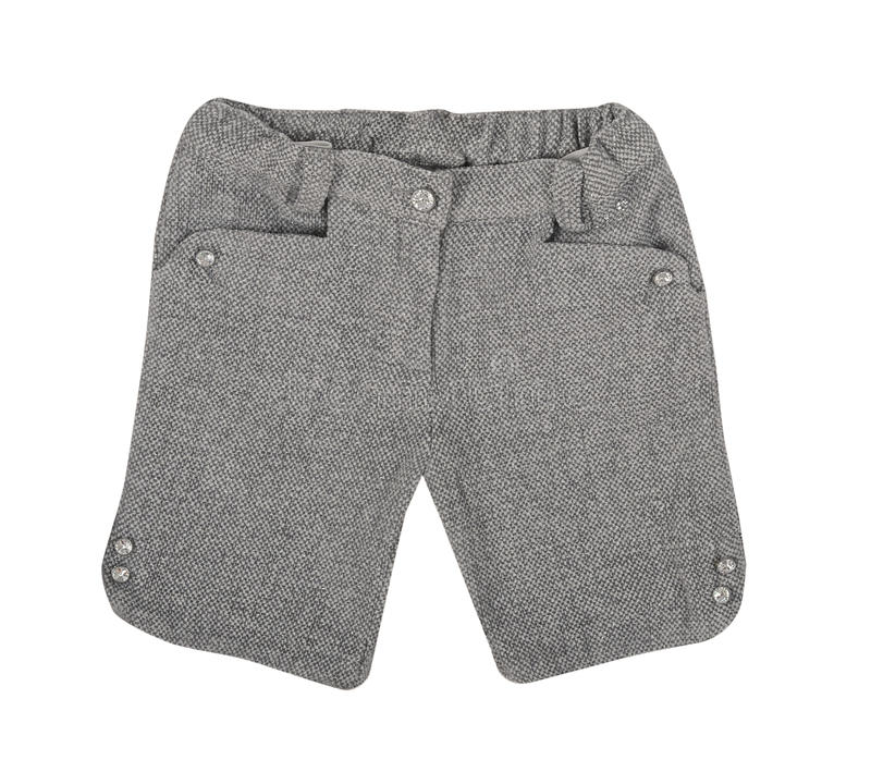 Shorts grigi fotografia stock libera da diritti
