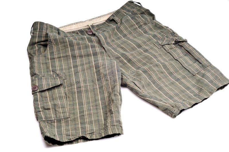 Shorts masculinos foto de stock royalty free
