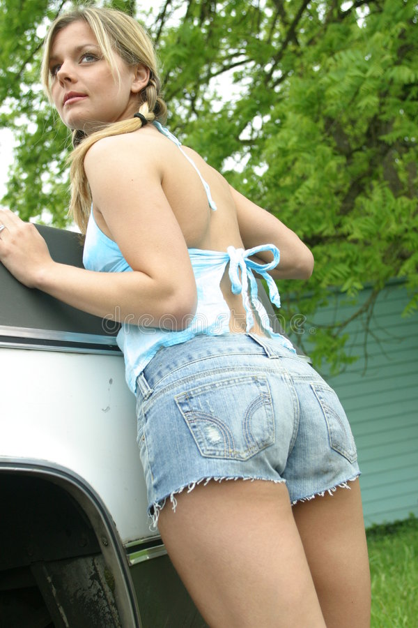 Shorts 'sexy' imagens de stock