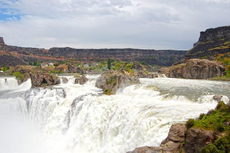 Download Shoshone Falls stock image. Image of giant, rocks, snake - 20105707