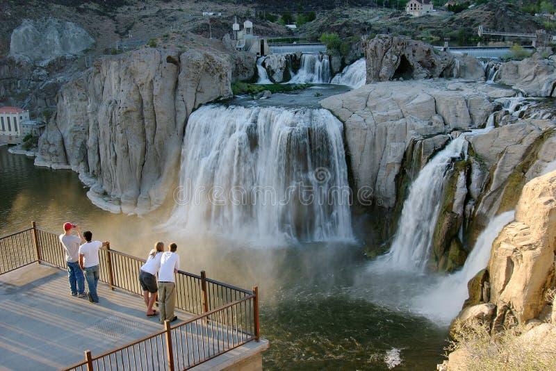 Shoshone Falls, Idaho. royalty free stock image