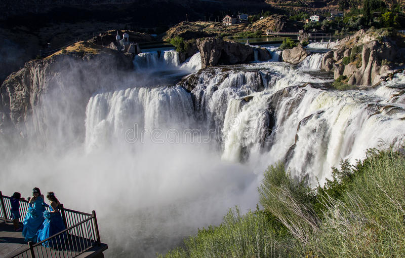 Shoshone Falls Idaho royalty free stock photo