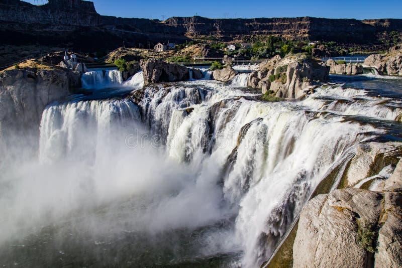 Shoshone Falls Idaho stock photos
