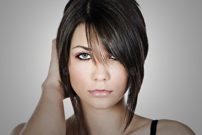 Shot of a Beautiful Teen Model royalty free stock photo