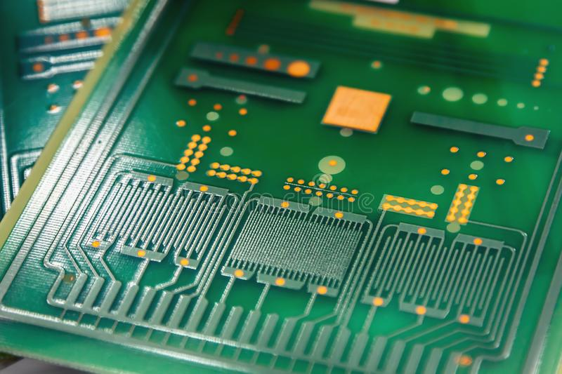 shot of circuit board for electronic components royalty free stock photos