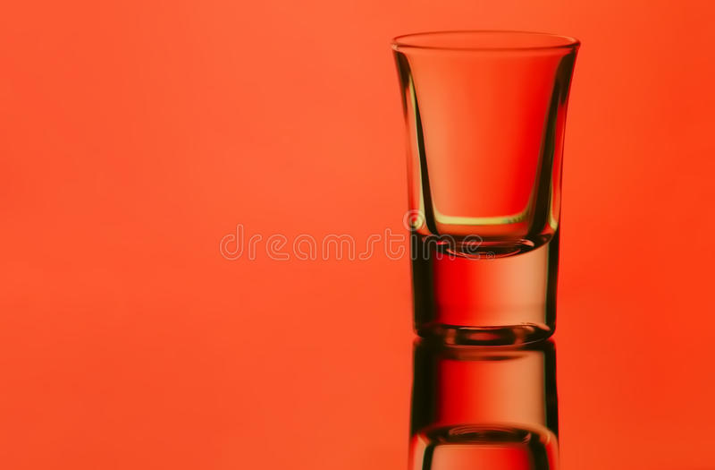 Shot glass royalty free stock image