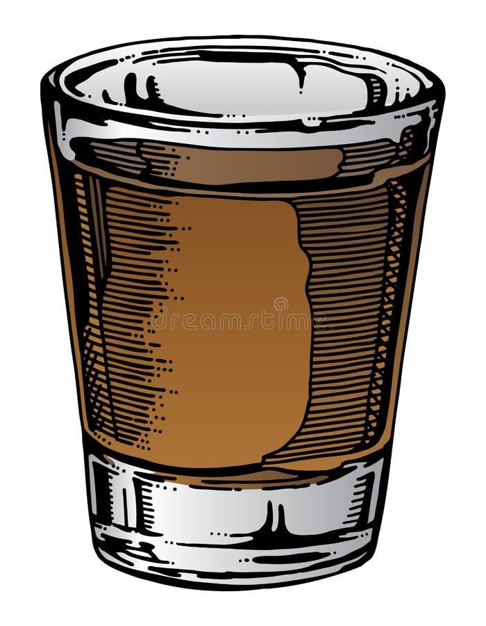 Free Shot Glass Hand Drawn Stock Photography - 56815932