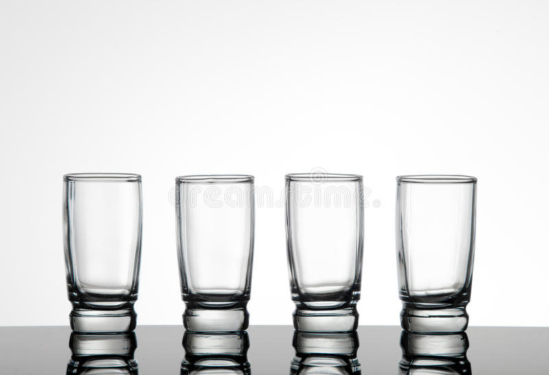 Download Shot glasses stock photo. Image of glass, back, silhouette - 15386672
