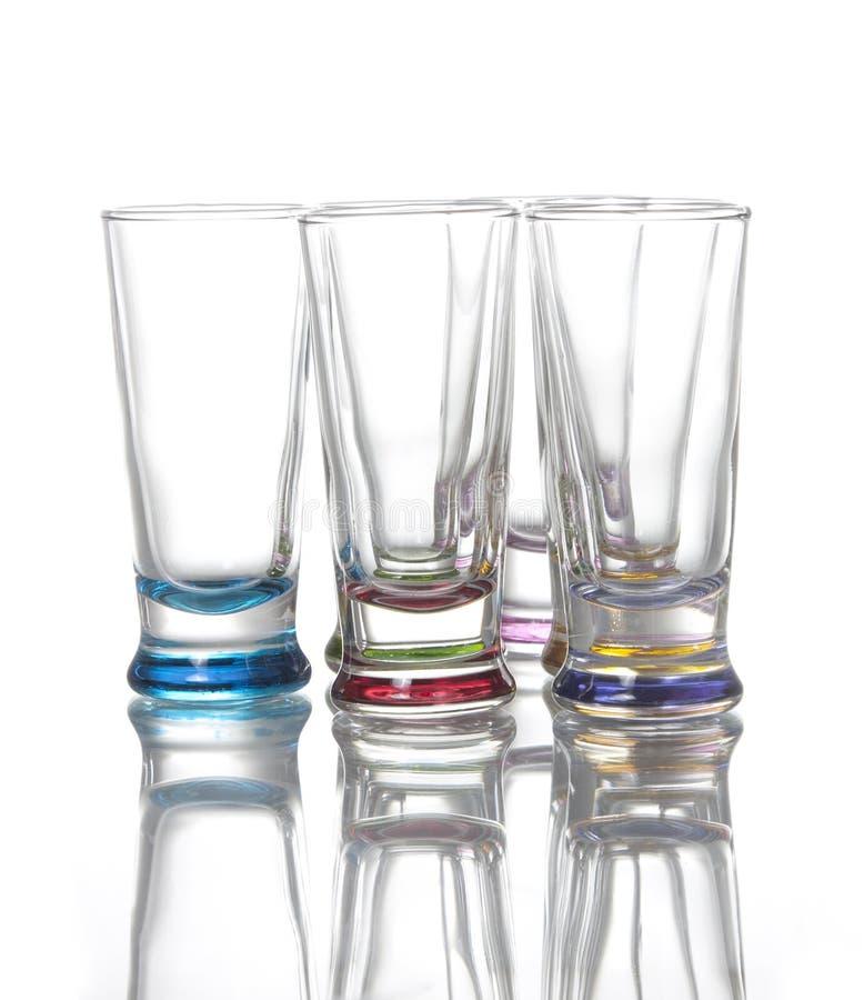 Download Shot glasses stock image. Image of cocktail, golden, booze - 26555487