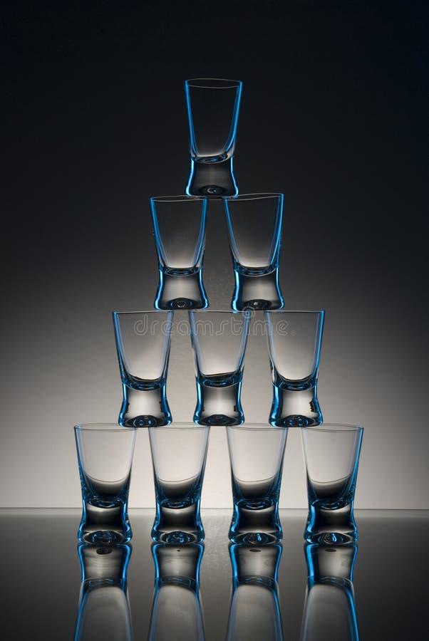 Free Shot Glasses On Table Stock Photo - 8068510
