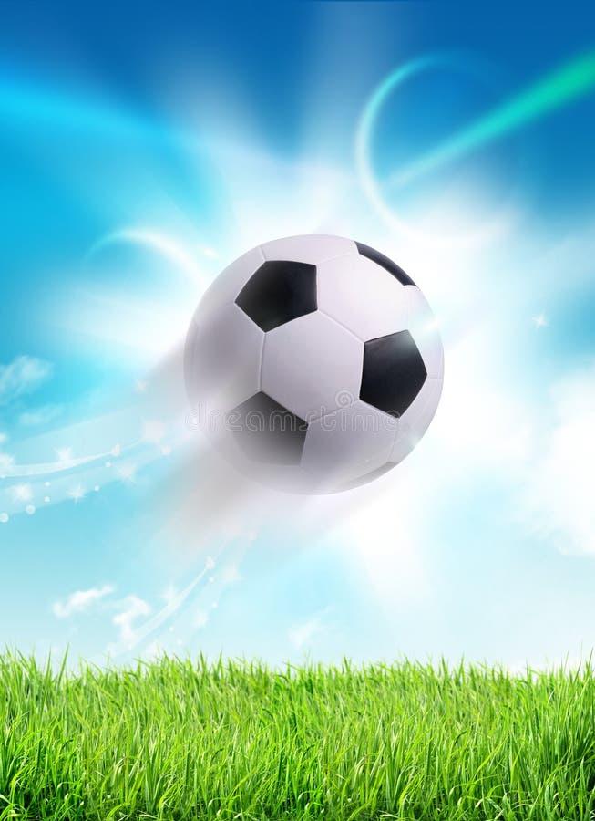 Download Shot on goal the ball stock illustration. Illustration of sport - 27028833
