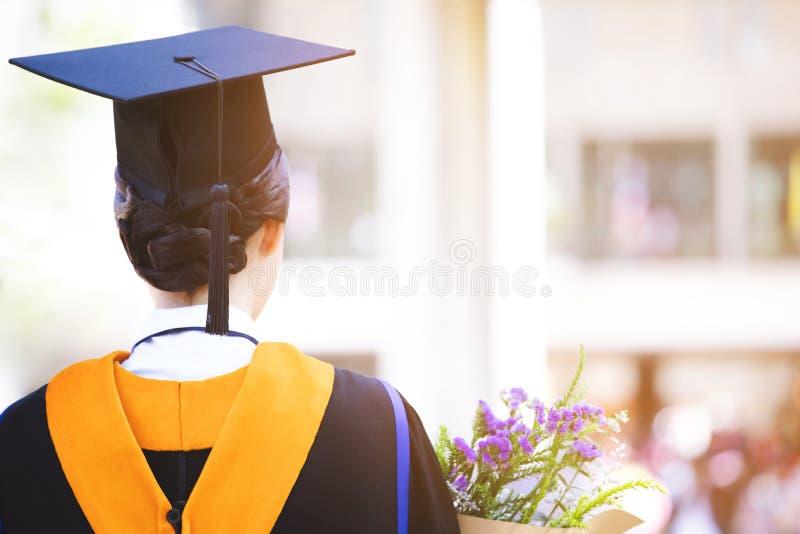 Shot of graduation hats during commencement success graduates of the university,. Concept education congratulation Student young ,Congratulated the graduates in stock images