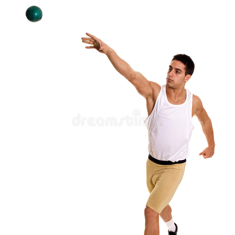 Download Shot Put stock photo. Image of caucasian, studio, male - 23354540