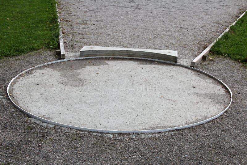 Shot Put Circle