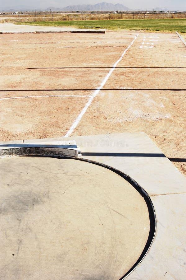 Download Shot put field stock image. Image of athlete, meters, focus - 669441
