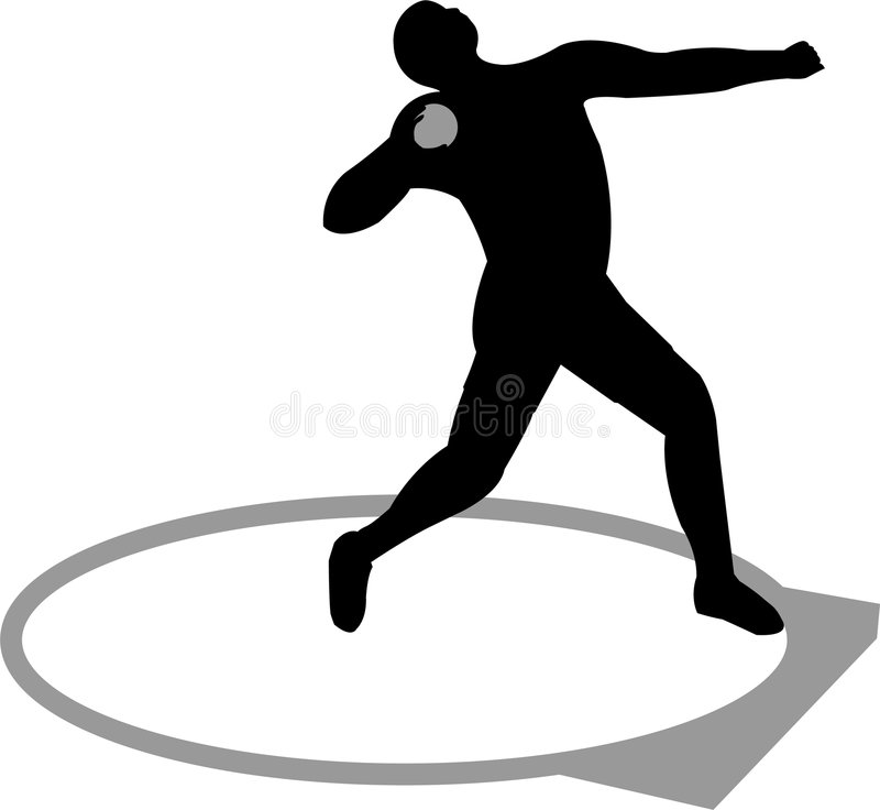 Free Shot Putter Stock Photography - 1758802