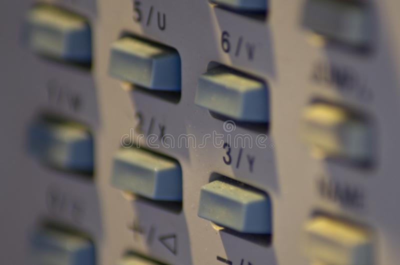 Shot session to audio devices. Close up shot session to audio devices stock photo